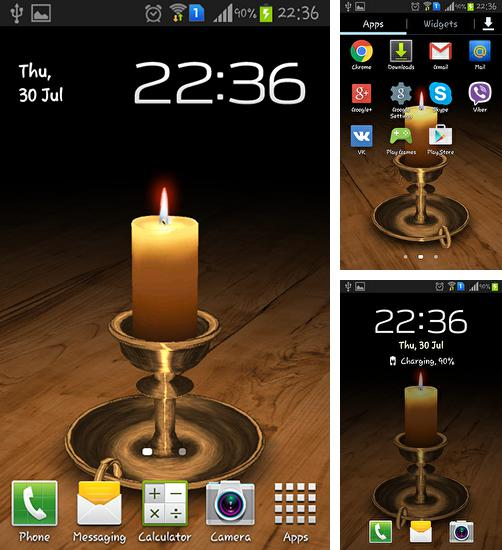 3d Melting Candle Live Wallpaper Nature By App Basic Para Android Baixar Gr 225 Tis O Papel De