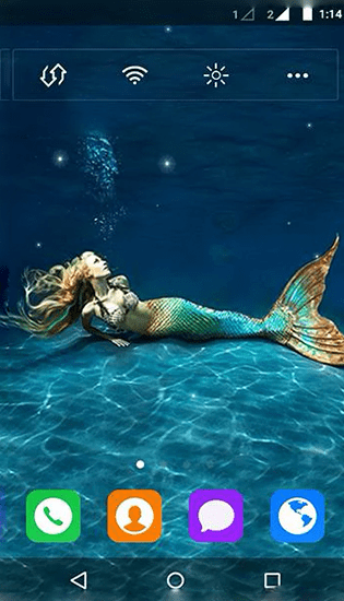 Mermaid by MYFREEAPPS.DE live wallpaper for Android. Mermaid by MYFREEAPPS.DE free download for ...