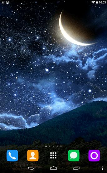 3d Image Live Wallpaper Apk Descargar Descargar Moon And Stars Para Android Gratis El Fondo De