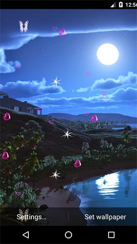 Moonlight by 3D Top Live Wallpaper live wallpaper for ...
