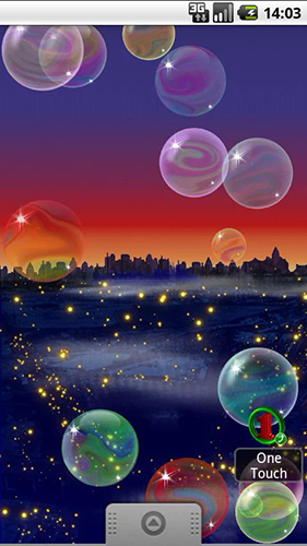 Nicky bubbles live wallpaper for Android. Nicky bubbles free download for tablet and phone.