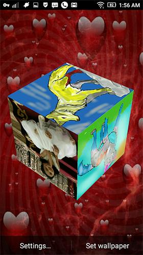 3d Cube Wallpaper Apk Photo Cube 3d Pour Android 224 T 233 L 233 Charger Gratuitement