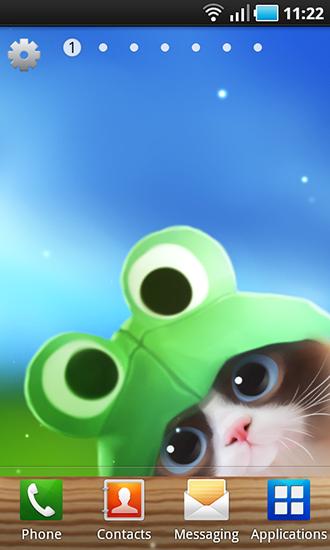 3d Live New Year Wallpaper Apk Descargar Shui Kitten Para Android Gratis El Fondo De