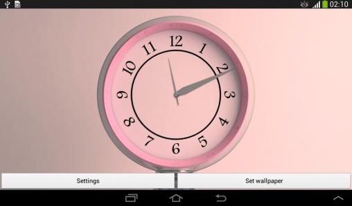 Sakura Falling Live Wallpaper Apk Full Silver Clock Live Wallpaper For Android Silver Clock Free