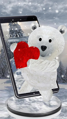 3d Christmas Live Wallpaper Apk Free Download Teddy Bear Love 3d Live Wallpaper For Android Teddy Bear