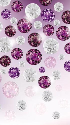 Falling Snow Wallpaper Iphone Diamonds Pour Android 224 T 233 L 233 Charger Gratuitement Fond D