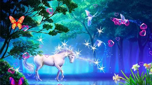 3d Fireflies Live Wallpaper Apk Unicorn 3d Live Wallpaper For Android Unicorn 3d Free