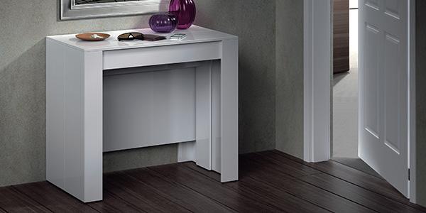 Muebles mesa barata bonita y buena muebles sof s y colchones blog mobiprix - Consola extensible barata ...