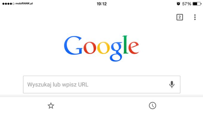 przyjazne mobilnie wyszukiwanie wGoogle