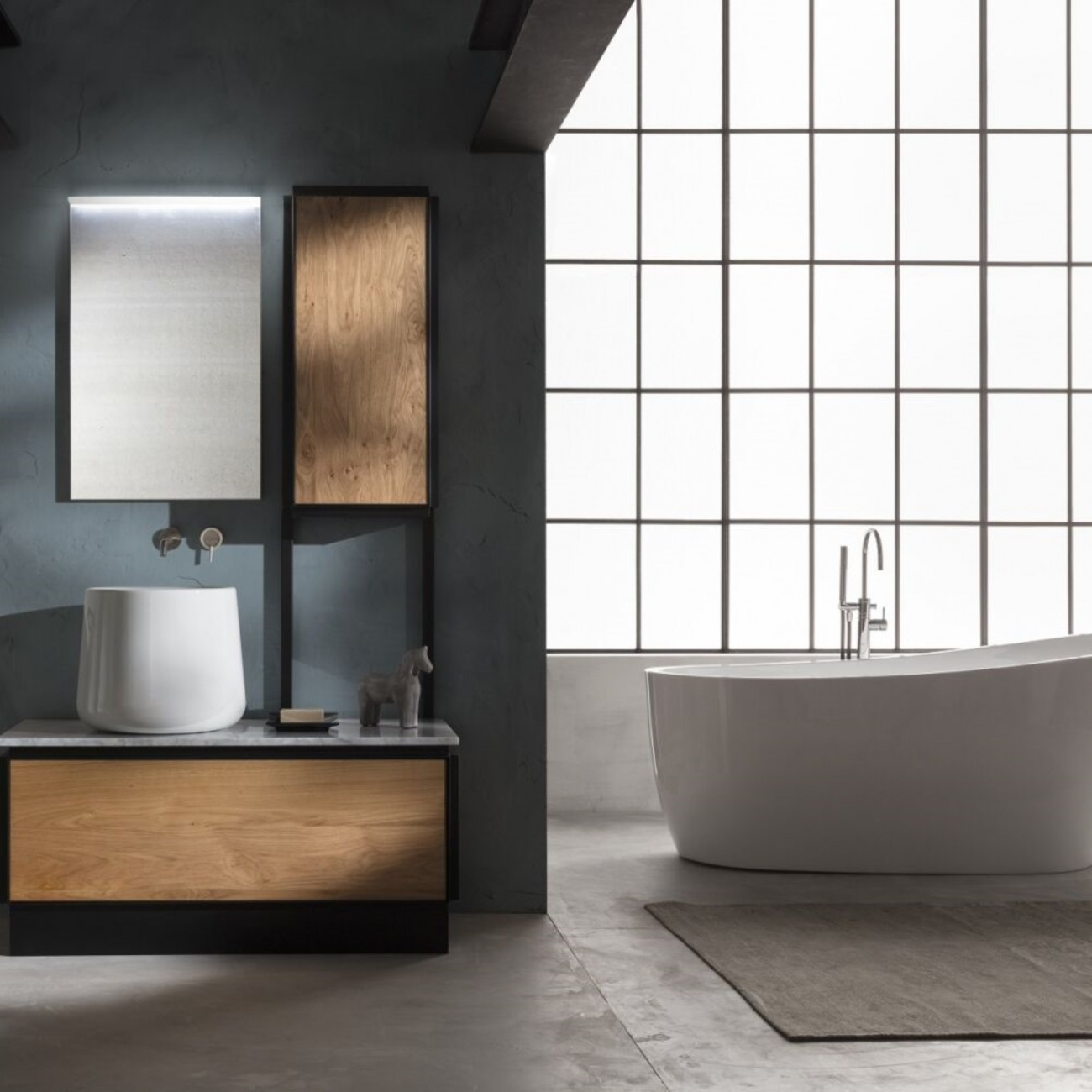Gaia Metrò Bathroom Furniture