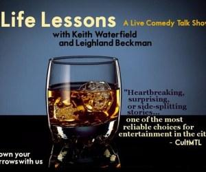 'Life Lessons: A Live Comedy Talk Show'