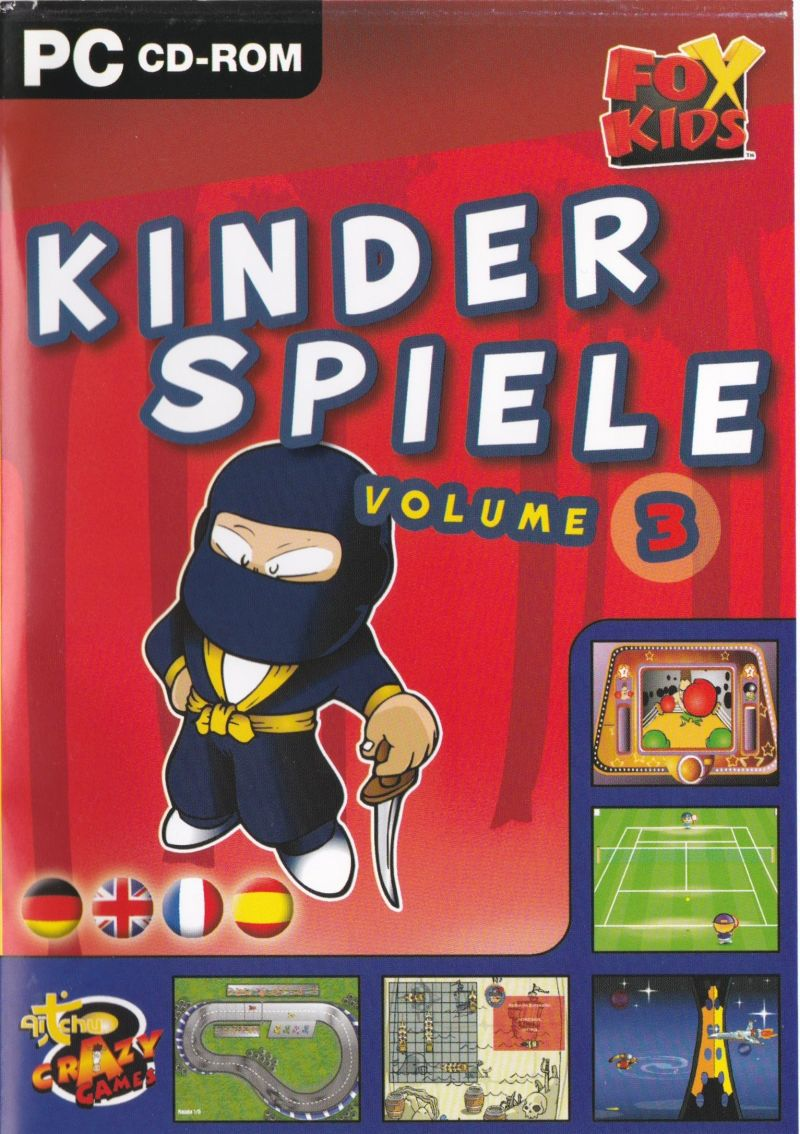 Kinder Aufwärmspiele Fox Kids Kinder Spiele Volume 3 2002 Windows Box Cover