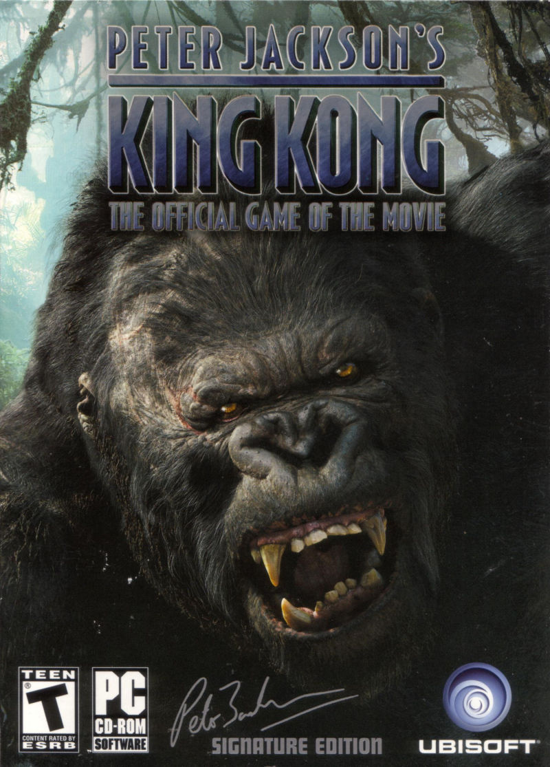 King Jackson Peter Jackson S King Kong The Official Game Of The Movie