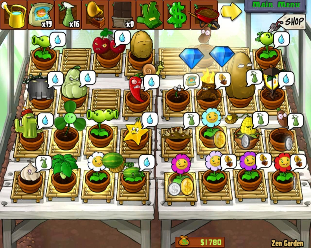 Zen Garten Plants Vs Zombies Plants Vs Zombies Screenshots For Windows Mobygames