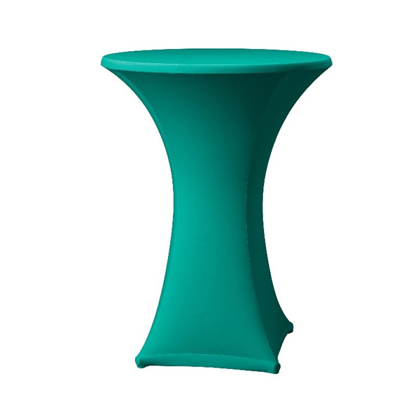 tall-table-spandex-table-cover-turquiose