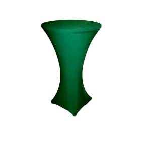 Green Lyrca Spandex Table Hire 2