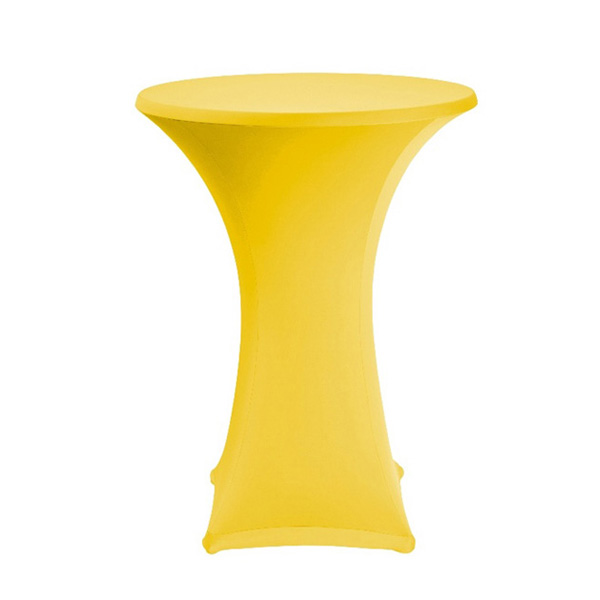 tall-table-spandex-table-cover-yellow