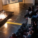Eli Sudbrack performative Art Talk
