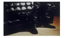 Untitled #26 (black couch), 1996	C-print, Edition 1/3, 30 x 40 inchesGift of Dennis and Debra Scholl