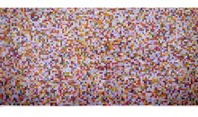 View (metallic), 1999 Metallic Pantone chips with acid-free adhesive, 54 x 104 inches (137.16 cm x 264.16 cm)Gift of Rosa and Carlos de la Cruz in honor of Marc Antonio Vilaca