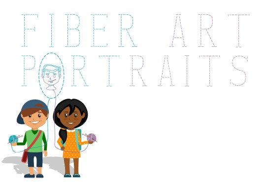 Fiber Art Portraits
