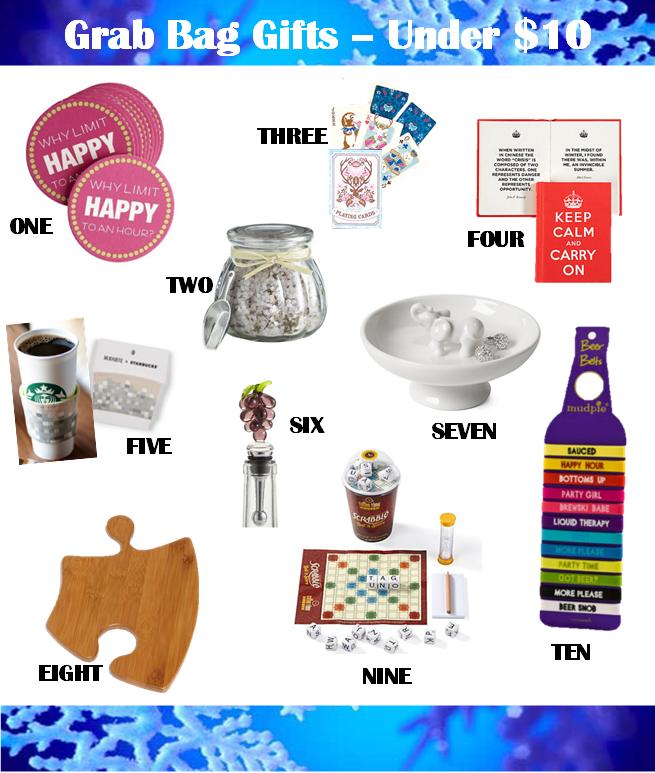 Imágenes de Christmas Grab Bag Ideas Under 10