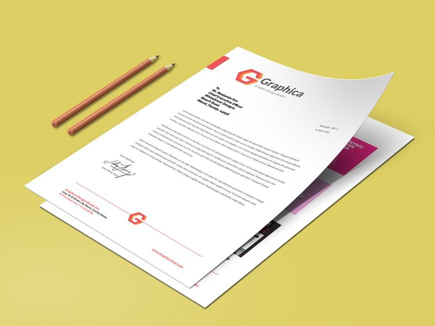 A4 Size Paper Resume Mockup - Mockup Love