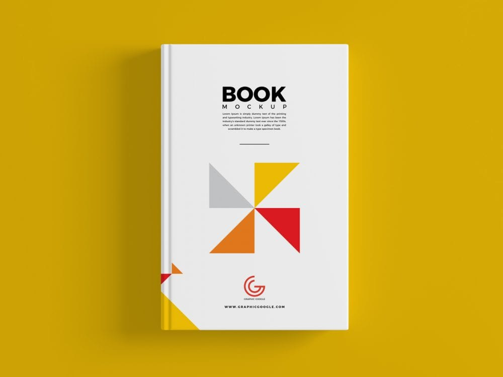 Mockup Report Psd Book Cover Mockup Psd Template - Mockup Free Downloads