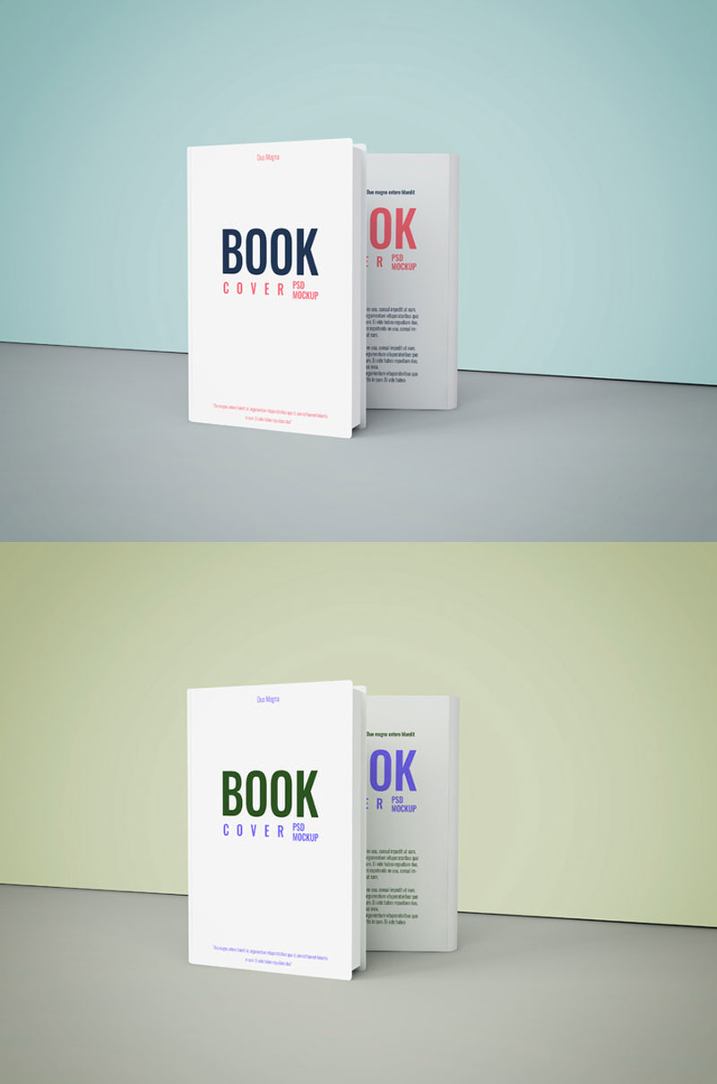 Mockup Report Psd Free Psd Book Cover Mockup To Showcase Book Cover Designs