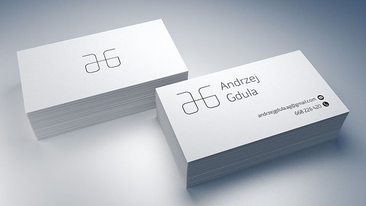 Business card mockup / 90x50 mm - Mockups Design Free Premium Mockups