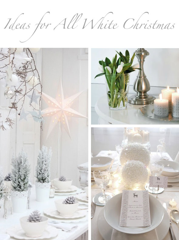 40 awesome and inspiring white christmas decorating ideas