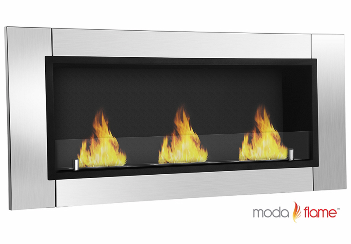 Ventless Wall Mount Gas Fireplace Moda Flame Devant Ventless Bio Ethanol Wall Mounted