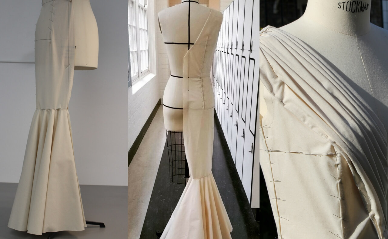 Ecole De La Chambre Syndicale Paris Draping Haute Couture Masterclass The Essentials