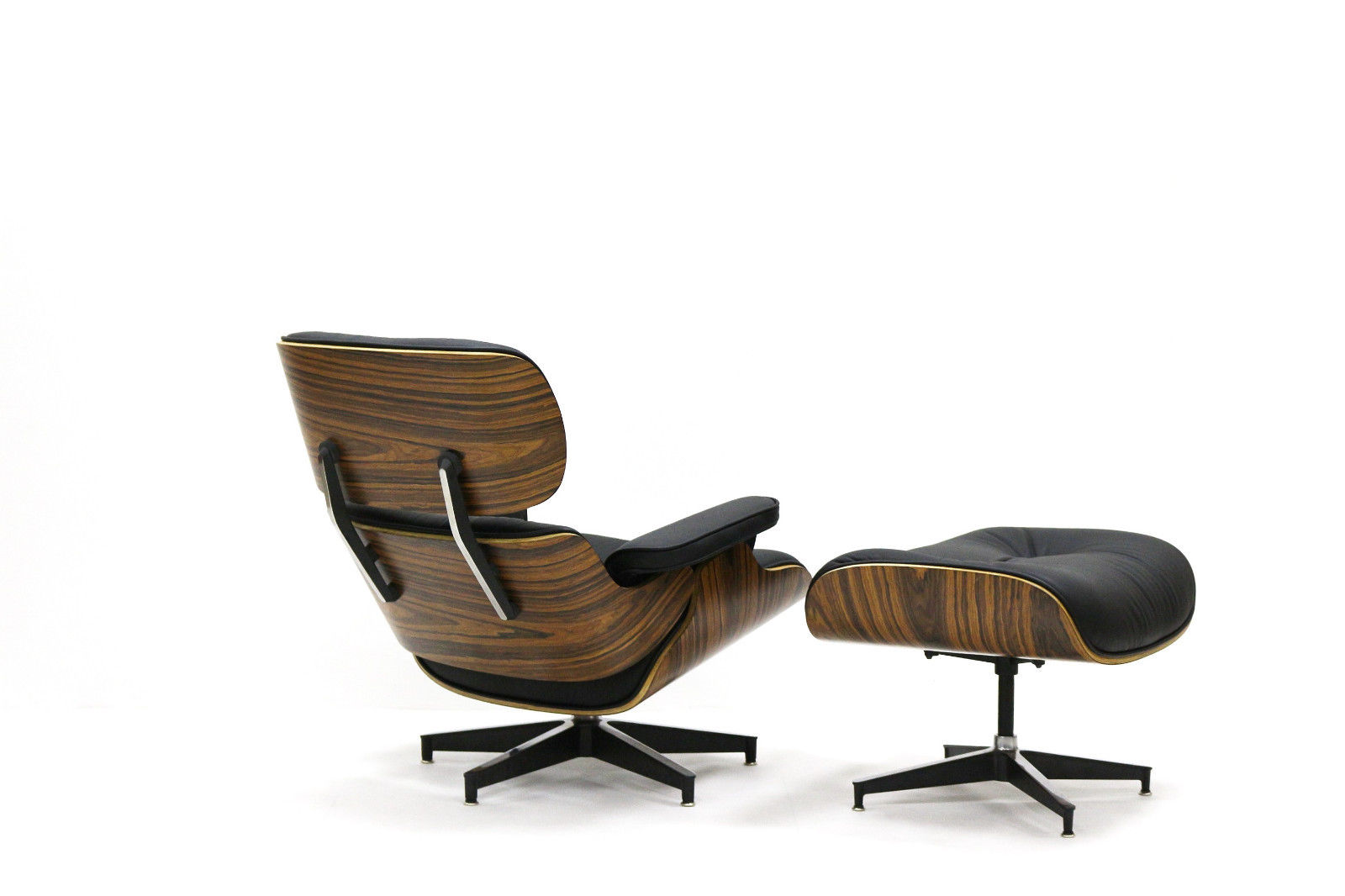 Eames Inspired Lounge Chairs Eames Style Lounge Chair And Ottoman Rosewood Plywood