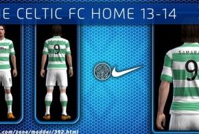 pes 2013 celtic 2014 kit forma