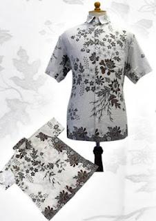 Baju Bbatik Bpria B Model Terbaru Baju Batik Pria
