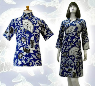 Model Baju Batik Modern Terbaru Pria Wanita Model Baju Batik