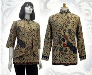 MODEL BAJU BATIK MODERN WANITA Kain Batik Modern Pria Wanita Terbaru