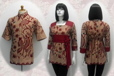 Baju Batik Pria Wanita