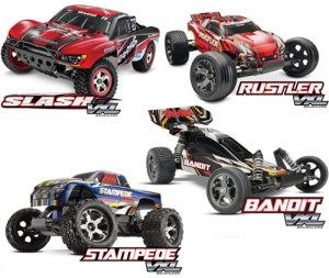 Traxxas-VXL-models