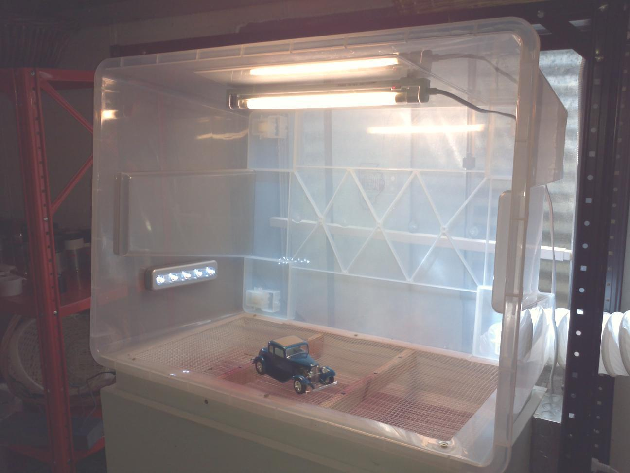 Paint Booths Safe Ventilation Page 15 Tips Tricks And Tutorials Model Cars Magazine Forum
