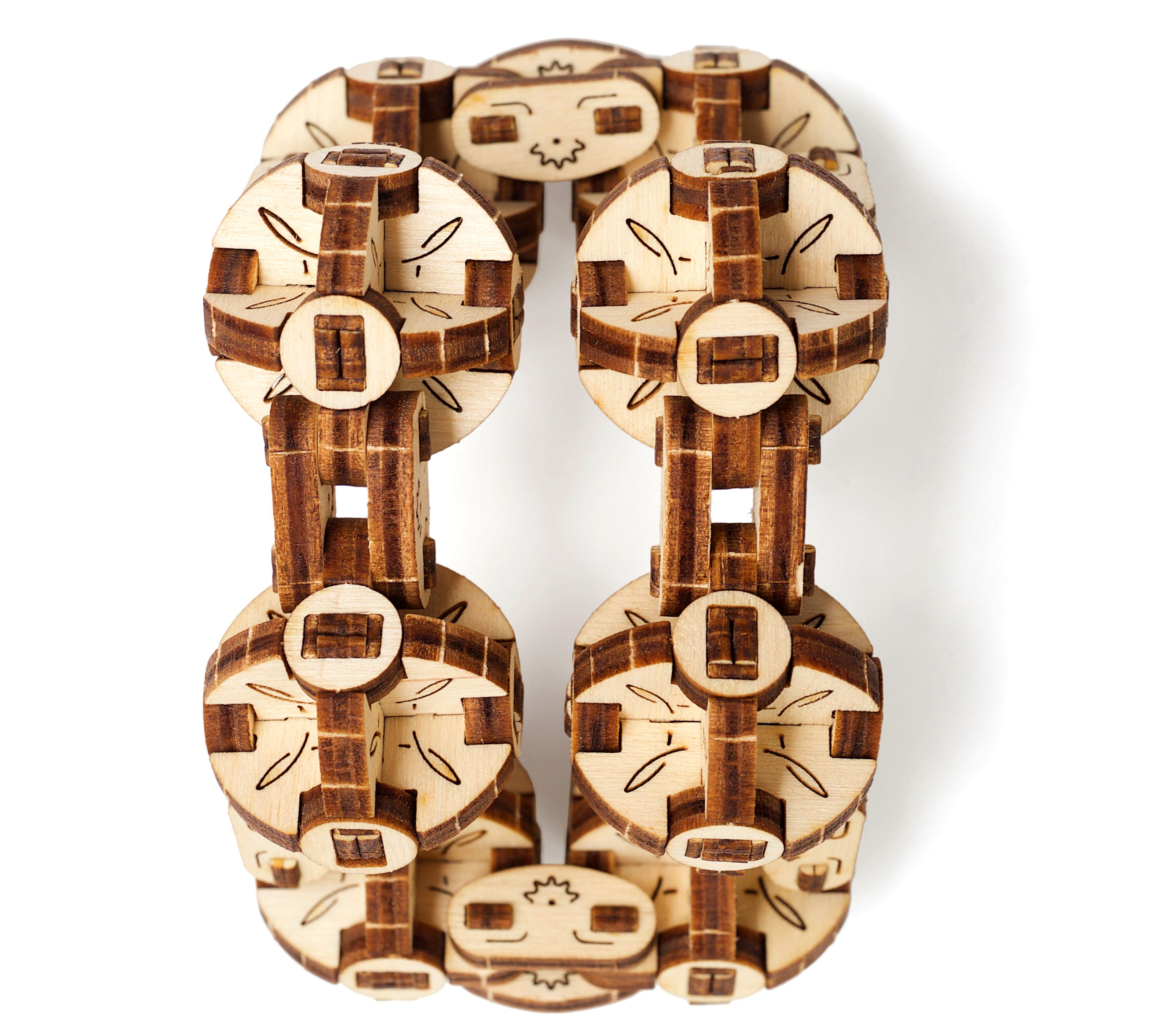 Cubus Online Shop Ugears Flexi Cubus Laser Cut Wood 144 Parts