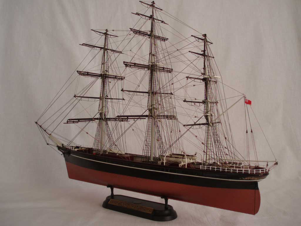Cutty Sark Model Ship Cutty Sark Scale Models 1 144 Model Kits