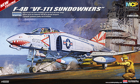 New Academy-1/48 F-4 Phantom II
