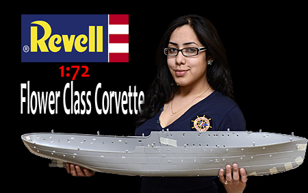 Flower Class Corvette rc Conversion Revell Flower Class Corvette