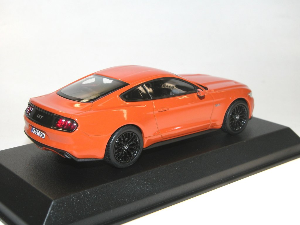 Neuer Ford Mustang 2015 Norev 2015 Ford Mustang Orange Neue Generation Des Fastback