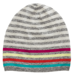 Autumn Cashmere Striped Beanie
