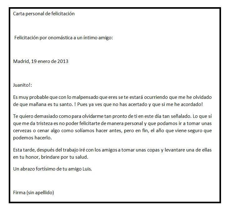 Ejemplos De Carta De Recomendacion Personal Sencilla