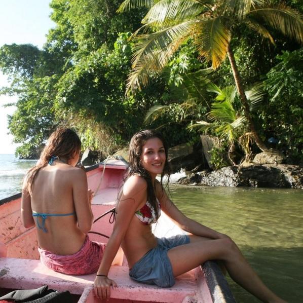 model on a mission, nora gouma, trinidad & tobago