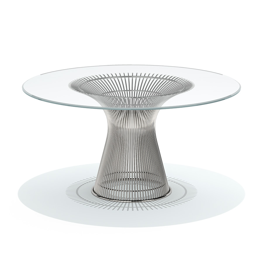Knoll Table Knoll Platner Dining Table 3d Model